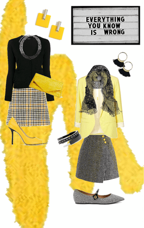 Houndstooth Yellow is NOT Wrong!