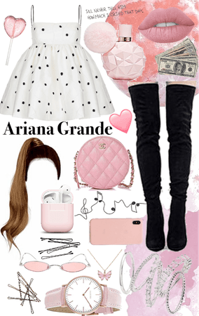 music outfit (Ariana grande)