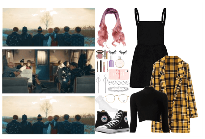 the 8th member: Spring Day outfit2