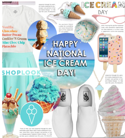 What I would wear on ice cream day