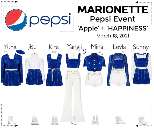 마리오네트 (MARIONETTE) - [PEPSI EVENT] 'Apple' + 'HAPPINESS' Performance