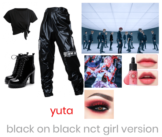 Yuta black on black girl version