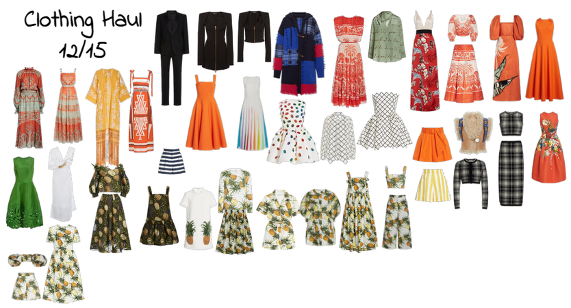 Clothing Haul 12/15 Moda Operandi