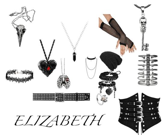 Elizabeth's accessories