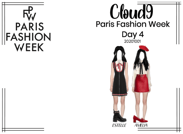 Cloud9 (구름아홉) | Paris Fashion Week Day 4 | 201001
