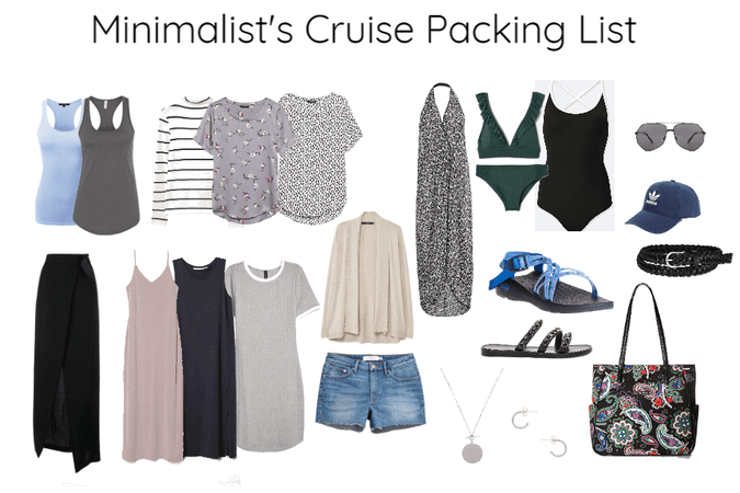 Minimalist's Cruise Packing List