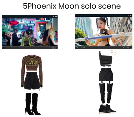 Moon Solo Scene