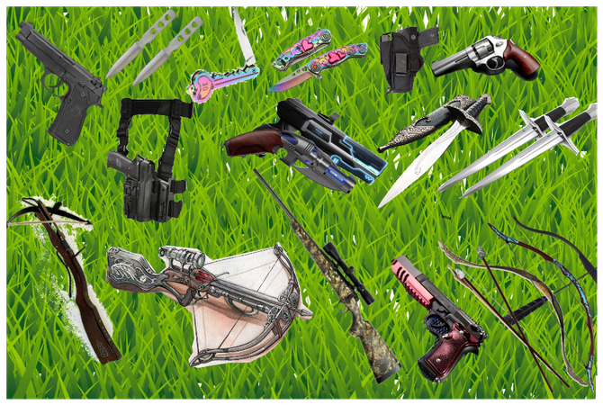 Weaponry for story