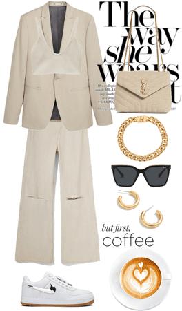 dress to impress | coffee date