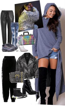 dress my hoodie grey