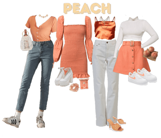 peaches & cream lookbook