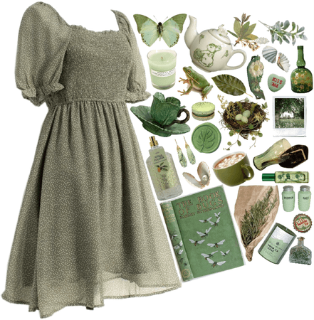 Cottagecore Sage Green Aesthetic