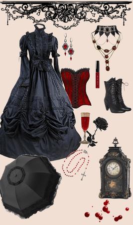 romantic goth | victorian