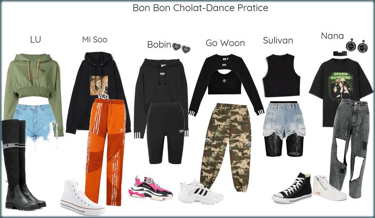 Bon Bon Chocolat-Dance Pratice