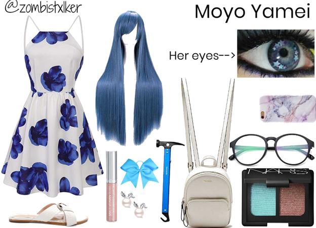 Shadow Hunters OC: Moyo Yamei's casual look (human)