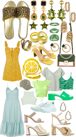 yellow green and gold