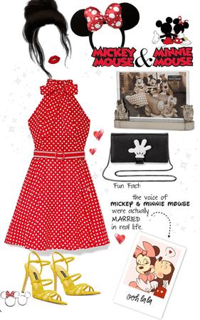 Minnie Mouse daydream ensemble