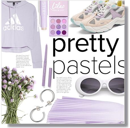 purple pastel 💜