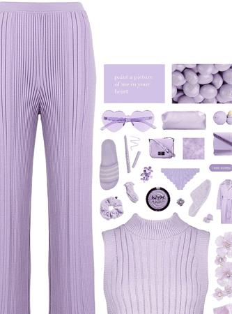lilac skies.