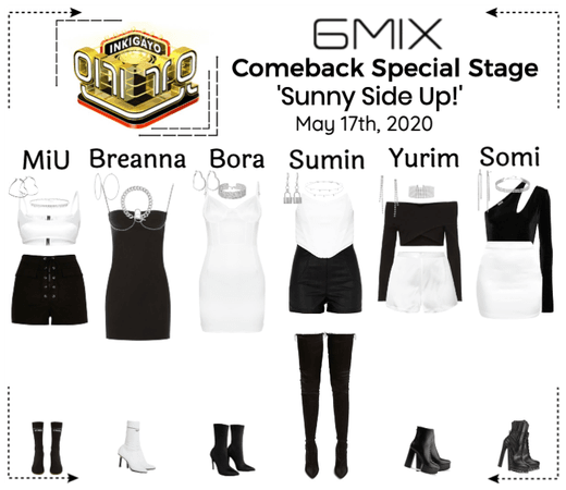 《6mix》Inkigayo Comeback Special Stage