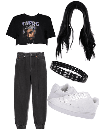 Tupac outfit!