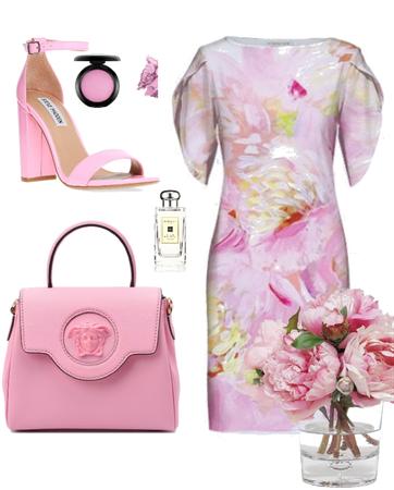 peony. pink trend