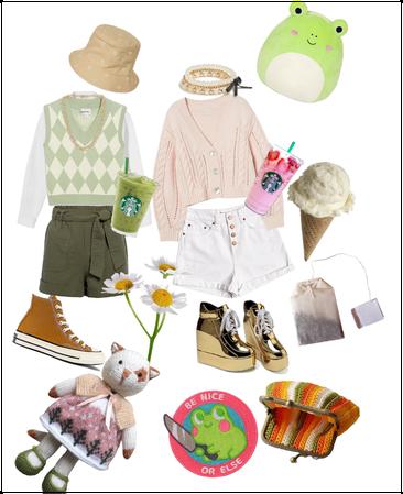 Knit wear: Cute vibes