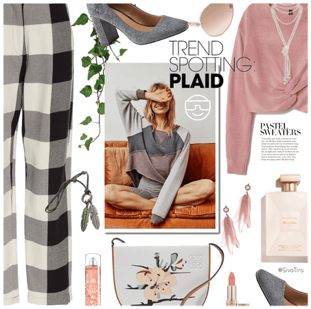 How to Style Plaid Looks  ..