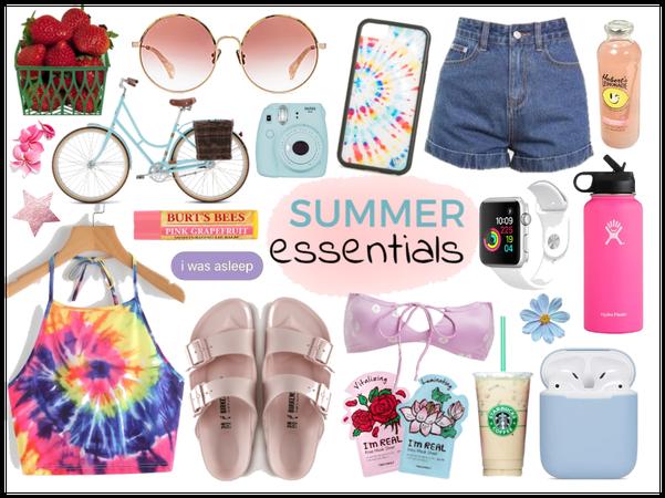 tie dye: summer essentials