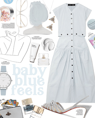Baby Blue Gray Feels