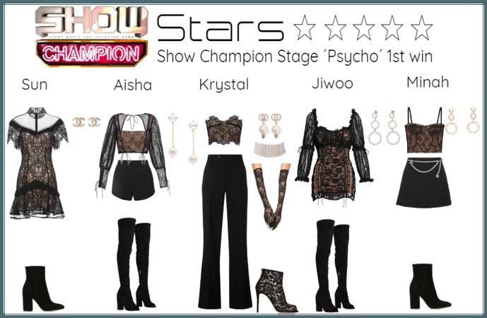 [STARS - PSYCHO] Show Champion Stage 1th win