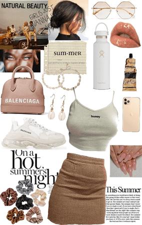 outfit summer neutrals