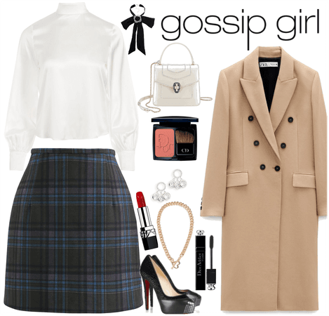 gossip girl inspiration outfit