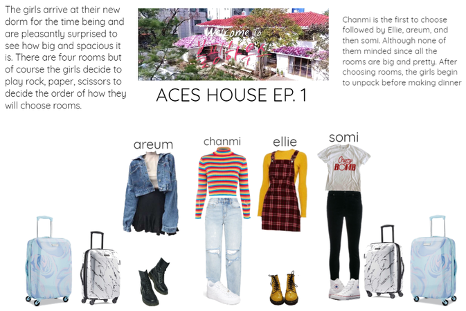 {ACES HOUSE} EP. 1 Moving in