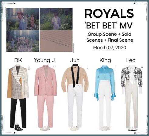 ROYALS [감청색] 'BET BET' MV