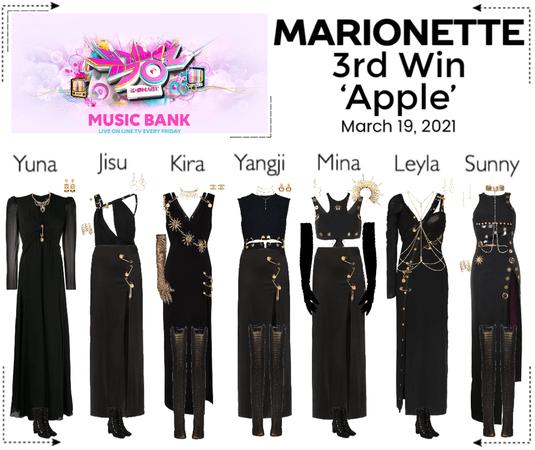 마리오네트 (MARIONETTE) - [MUSIC BANK] 'Apple' | 3rd Win