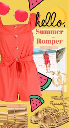 Hello Summer Romper