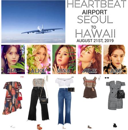 [HEARTBEAT] AIRPORT | SEOUL TO HAWAII