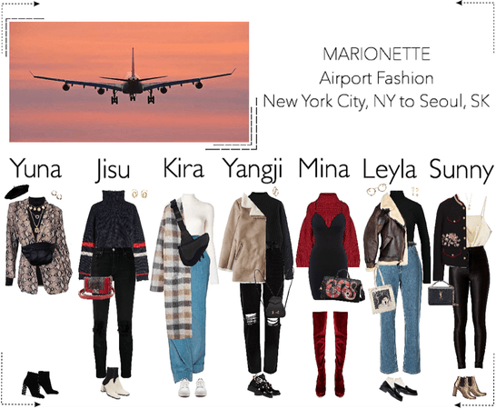 MARIONETTE (마리오네트) Airport Fashion | New York City, NY to Seoul, SK