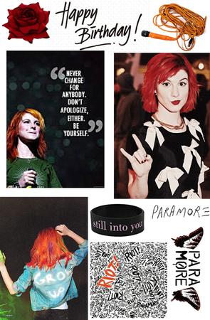 Hayley Williams/Paramore Happy Birthday