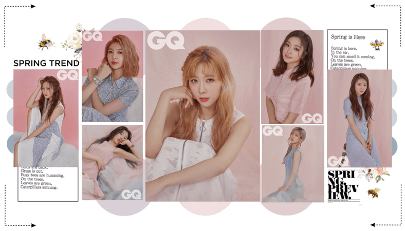 MARIONETTE (마리오네트) GQ Magazine Photoshoot