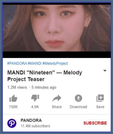 "MANDI ""Nineteen"" Project Teaser"
