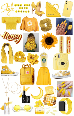 YELLOW THINGS