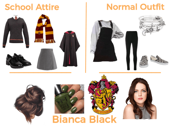 Bianca Black Outfits