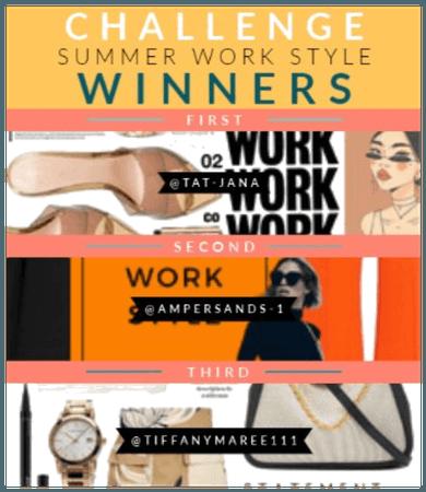 Summer Work Style Winners