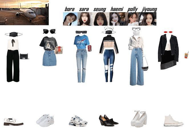 Alice Toronto back to Seoul -Airport Fashion-