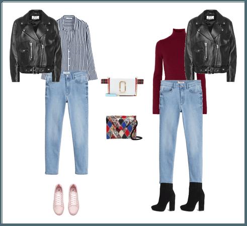 джинсы и косуха