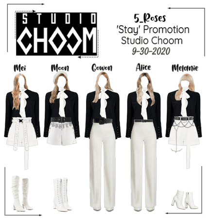 """5ROSES 'Stay' Promotion performance Studio Choom"""""""