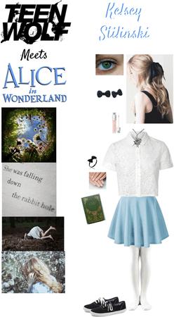 Teen Wolf OC: Kelsey Stilinski as Alice