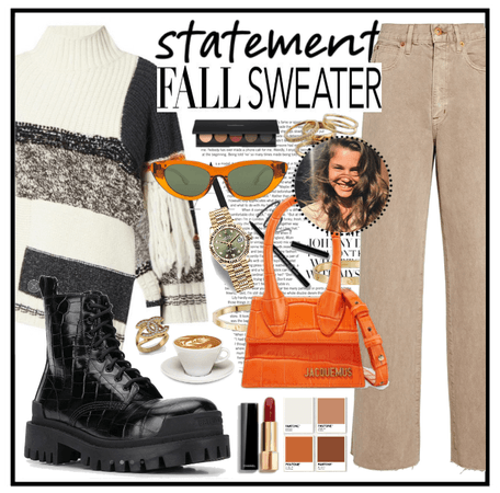 statement fall sweater